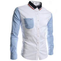 Camisa Slim Fit Hombre Colors Envio Gratis-promoción!