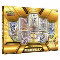 Box Coleção Lendária Pikachu Ex
