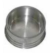 Comedouro Médio De Alumínio Pesado Para Cães