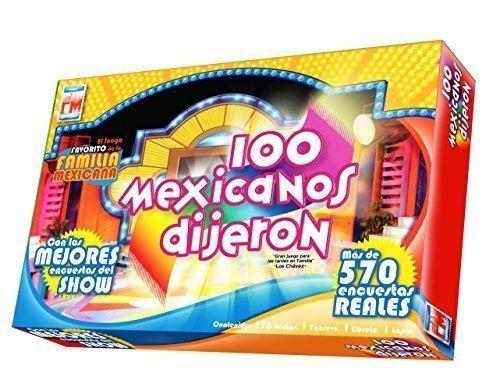 100 Mexicanos Dijeron Juego De Mesa Spanish Edition 2 259 00