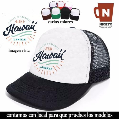 Surf Gorra Trucker Coleccion Niceto Modelo Hawaii2 Calidad 1 -   345 ... 8f854428536