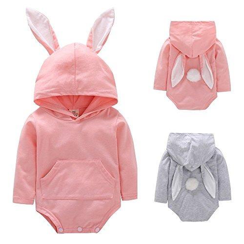 d499cf7cee6 Bebé recién nacido conejo oreja con capucha mameluco mono jpg 500x500 Conejo  mamelucos lindo ropa dibujos