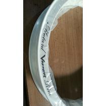 Aro Roda Aluminio 18 X 250 Branco Motard Viper Branco