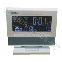 Reloj Digital Con Estacion Meteorologica Temperatura Humedad