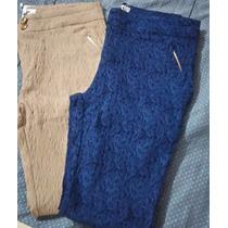 Calça Feminina 77%algodão 20%poliamida 3%lycra