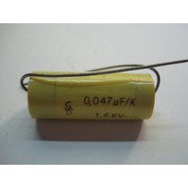 0.047uf X 1600 Volt Pack Capacitores Poliester Marca Siemens