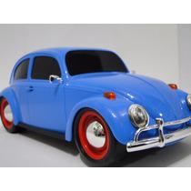 Socado Fusca Azul Piscina Brinquedo Pneu Borracha Volkswagen