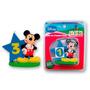 Vela Cumpleaños Mickey Mouse Incluye Números Adhesivos