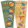 Stickers De Dinosaurios X8 Laminas