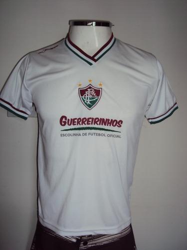 Camisa Masculina Fluminense Guerreirinhos Tamanho 14 - R  30 61100e9b97f0c