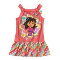 Vestido Dora Nickelodeon Niña Talla 12 Meses Envio Gratis