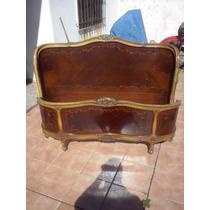 Respaldo Y Piecera Cama Balcon Luis Xv 2 Plazas