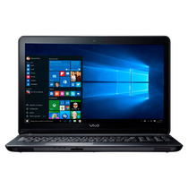 Notebook Vaio Fit15f Core I3 4gb Windows 10 500gb Negra
