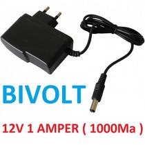 Fonte Estabilizada Chaveada 12v 1a Cftv Camera Fita Arduino