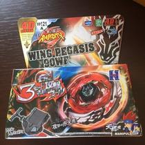 Beyblade - Wing Pegasis - 90wf - Pronta Entrega