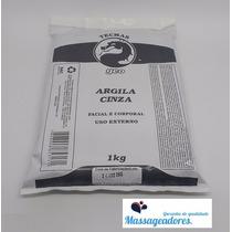 Argila Medicinal Cinza Facial Corporal 1kg Geo - Original