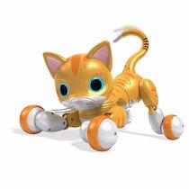 Gato Robot Interactivo Zoomer Edicion De Coleccion!