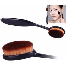 Pincel Escova Oval P/ Pó- Blush- Base- Corretivo -maquiagem