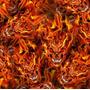 Llamas - F04 - Fuego con Calaveras - Ancho 0,50m