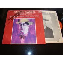 Carlos Gardel Sus Primeras Canciones Promo 1985 Vinilo Nm+