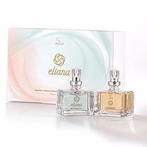 Kit Natal Eliana Jequiti 2 Perfume 25ml Cada Frete Grátis