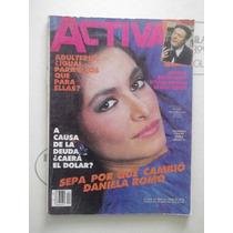 Daniela Romo,revista Activa De 1985