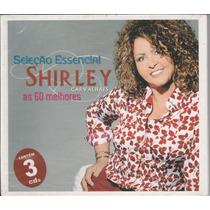 Cd Shirley Carvalhaes As 60 Melhores (contém 3 Cd`s)