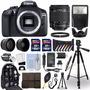 Camara Canon Eos 1300d Dslr + Kit De Accesorios Fotograficos