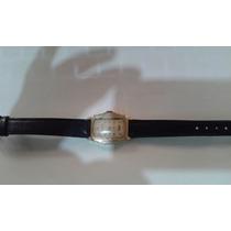 Reloj Bulova Movimiento De Cuerda Chapa Oro 10k