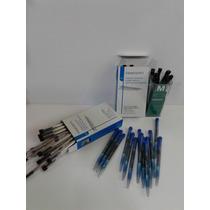 Repuesto Inoxcrom Tipo Parker-azul-neg-roj-pack X4 Repuestos