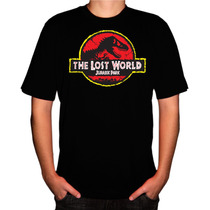 Camisa Filmes Séries Jurassic Park The Lost World