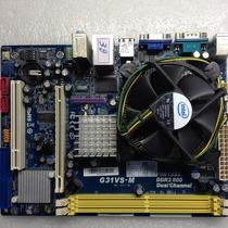 Kit Placa Mae Phitronics 775+ Proc Intel Celeron 430 1.8ghz