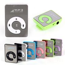 10x Mp3 Nano Mini Kit Usb Atacado Lote Mp5 Mp4 Ipod Grátis