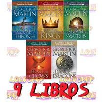 Juego De Tronos Colección 9 Libros [pdf] Envío Gratis!!