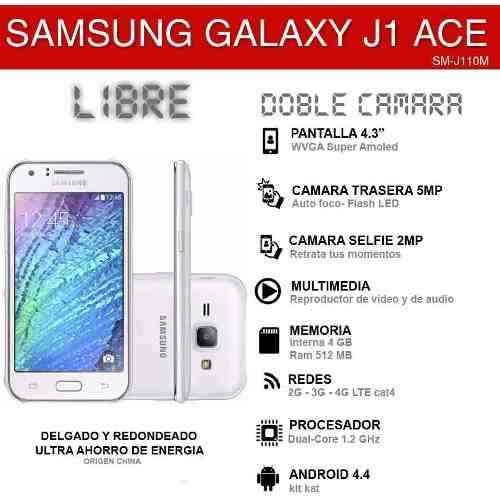334769725 Celular Samsung J1 Ace , 4g, Liberado! - $ 5.899,00 en Mercado Libre