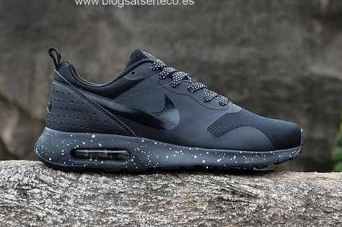 Tenis Zapatillas Nike Air Max Tavas Negra Hombre Env Gr -   144.900 ... e9052cd444201
