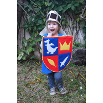 Disfraz De Caballero Medieval, Niños