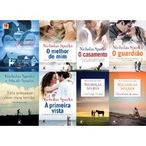Coleção Nicholas Sparks Com 8 Livros Impressos