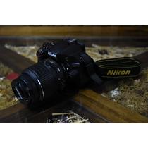 Camara Nikon D5100 + Lente Nikon 18-55mm
