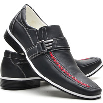 Calçado Casual Social Masculino Super Confortável Sapatofran