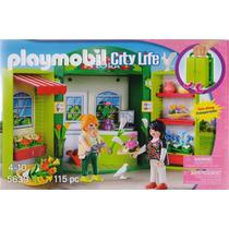 Playmobil City Life Floreria Y Macetas Modelo 5639