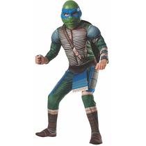 Disfraz Traje Infantil Personaje Tortugas Ninja, Leonardo