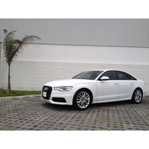 Audi A6 S Line 3.0 Quattro 2013 Blanco