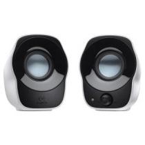 Bocinas Logitech Z120 2.0 Blanca/negra Audio Por 3.5 Alimen