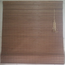 Persiana Bambu Cortina Madeira Bandô 0,80 X 2,20 Cm Zebrano