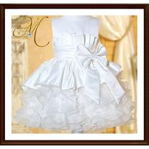 Vestidos Bautizo Comunion Gala Niña Fiesta Princesas Bebes