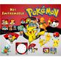 Kit Imprimible Pokemon 2016 Candy Bar Golosinas Editables
