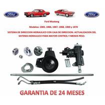 Sistema Direccion Hidraulica Completo Ford Mustang 1965-1970