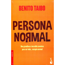 Persona Normal - Benito Taibo / Booket