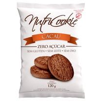 Cookie De Cacau Sem Açúcar, Sem Glúten, Sem Lactose, Sem Ovo